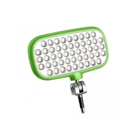 Lámpara para selfie mecalight LED-72 Smart, VERDE