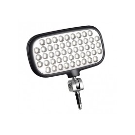 Lámpara para selfie mecalight LED-72 Smart, NEGRA