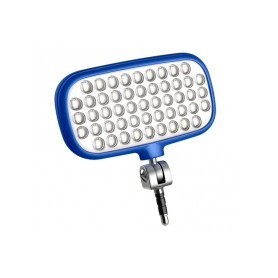 Lámpara para selfie mecalight LED-72 Smart, AZUL