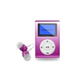 Reproductor MP3 SUNSTECH DEDALOIII4GBPK