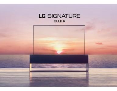 Llega el televisor enrollable de LG